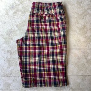 Plaid Bermuda Shorts by Merona, size 14